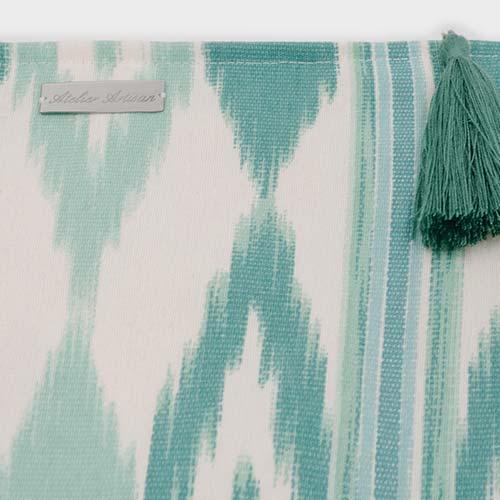 c54194ec0 Bandolera Verde Agua - Atelier Artisan Handmade